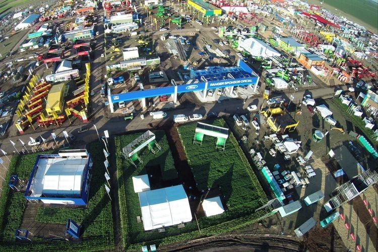 Se abren cuatro días de intensa actividad agropecuaria. Foto: Expoagro