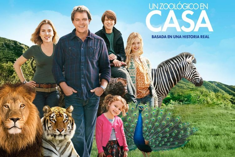 """Esta tarde desde las 18.30 y con entrada libre y gratuita, se estrenará la película """"Un Zoológico en Casa"""", en las instalaciones del Club de Bochas. Foto: Gentileza Producciones"""
