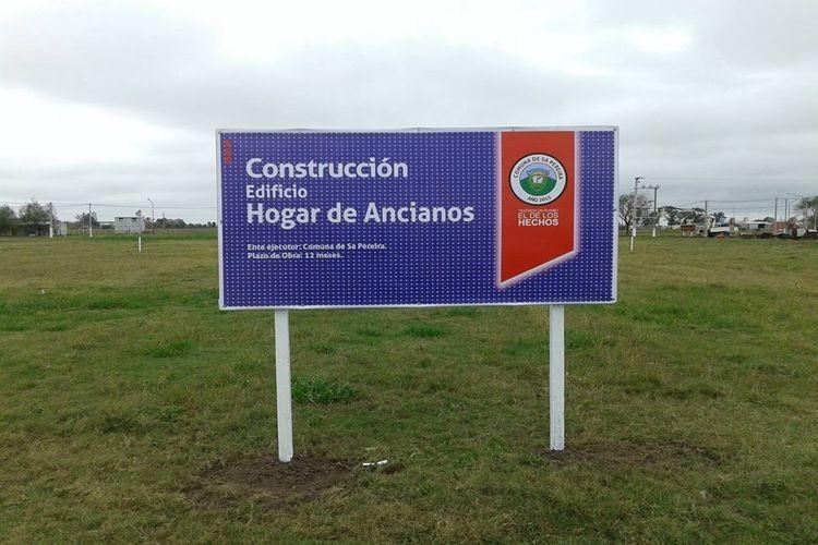 La construcción del Hogar de Ancianos Comunal, será una de las principales obras encaradas por la actual gestión en los próximos dos años. Foto: Comuna de Sa Pereira