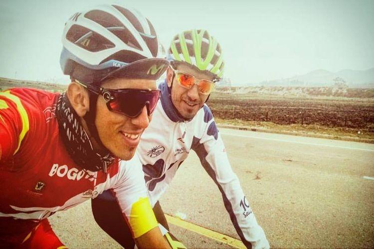 """""""Las expectativas son muy buenas, voy a tomar, aprender y conocer cada detalle acá en Colombia para crecer como corredor. El ciclismo en este país es un disparador al profesionalismo, dado que muchos campeones de las grandes vueltas como el Giro de Italia, la Vuelta de España y Tour de Francia, son de esta región"""". Foto: Gentileza"""