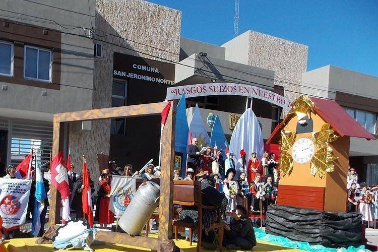 Una nueva edición de la Fiesta Nacional del Folclore Suizo se realizará este fin de semana -del 4 al 5 de junio- en San Jerónimo Norte.  Foto: Archivo