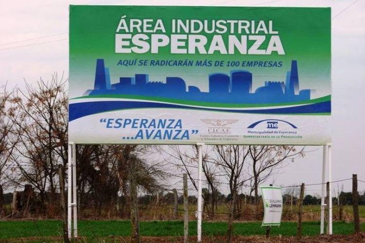 Vale destacar que el Área Industrial cuenta con una superficie de más 64 hectáreas divididas en 154 lotes, y albergará las empresas que ya tienen planificada su instalación. Foto: Archivo