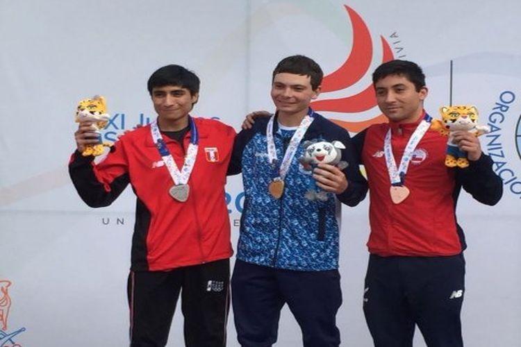 El tirador santafesino viene de cumplir una actuación consagratoria en los XI Juegos Odesur que se disputaron en Cochabamba, ya que consiguió tres medallas de oro. Fotos: Diario UNO