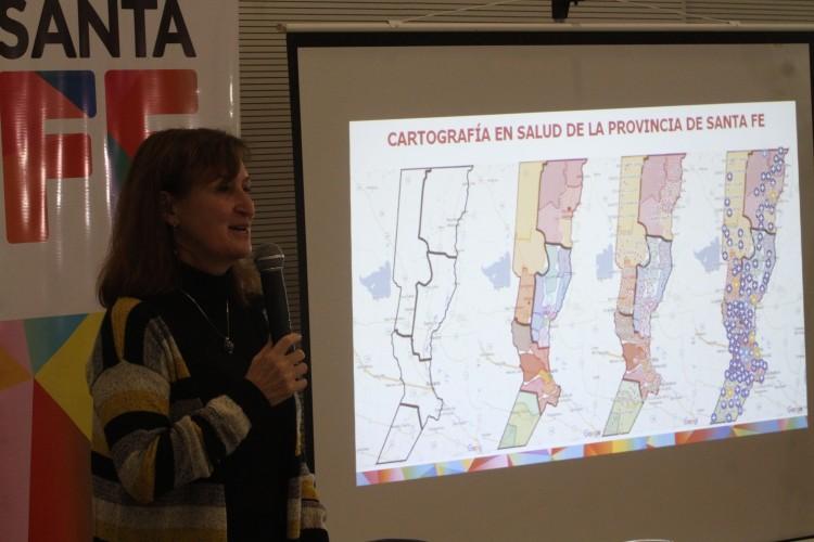 Además desde las 10, en Pilar la funcionaria junto al Coordinador del Nodo Región N° 3 estará haciendo entrega de una ambulancia y una visita por las instalaciones del nosocomio. Foto: Agencia