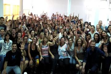 La comuna de San Jerónimo del Sauce, como viene sucediendo desde hace 3 años, acompaña a jóvenes y adultos que desean obtener su titulo secundario. Foto: Agencia