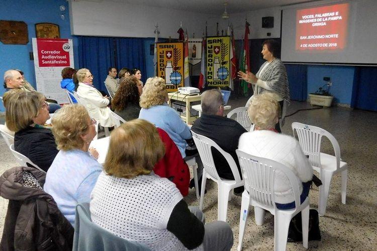 La actividad estuvo organizada en forma conjunta entre la Secretaría de Cultura local y el ministerio de Innovación y Cultura Provincial. Foto: Comuna