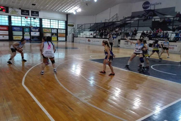 Alma Juniors se impuso en el duelo de U13 por 55 a 43 y las U17 cerraron la jornada con victoria para las locales por 53 a 48. Foto: Gentileza