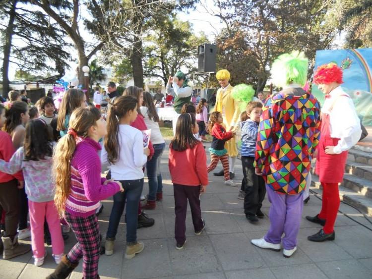 En tanto en Matilde las actividades recreativas para niños, se desarrollarán este domingo en la Estación del Ferrocarril. Foto: Archivo