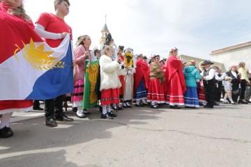 En el marco del programa Periplo Colectivo, desde las ciudades de Santa Fe y Rosario visitarán la localidad de Humboldt, en el departamento Las Colonias. Foto: Manuel Fabatía