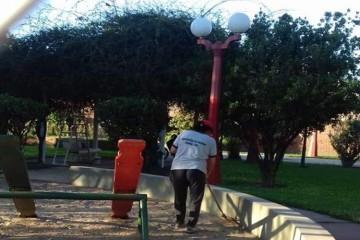 """""""Cabe recordar que, similares trabajos ya se realizaron en Plaza del Trabajador, Ciclovía Sur; y continuarán en las distintas plazas y paseos de Franck"""", expresaron fuentes comunales. Foto: Archivo"""