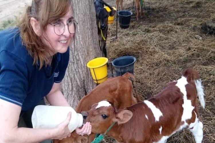 En 2008, cuando a raíz del conflicto por la resolución 125 se abrió la filial de la Federación Agraria Argentina (FAA) en la localidad del departamento San Justo, Marisa empezó a participar en el gremialismo rural. Foto: Agrovoz